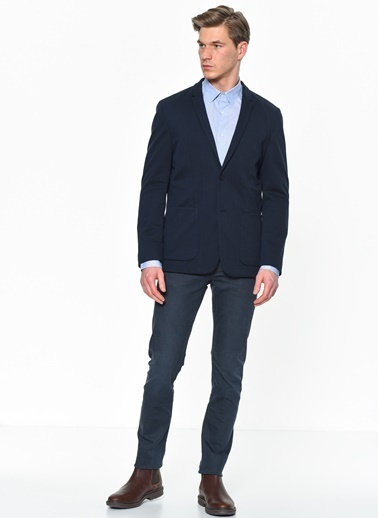 Calvin Klein Ceket Lacivert